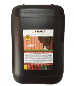 Impregnat do drewna PERFECT WOOD 10 L - 120 m2 HIT